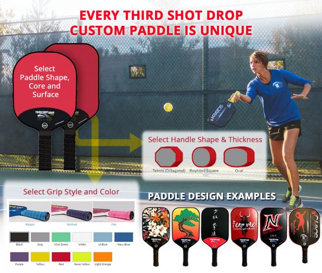 Third Shot Drop - Custom Pro Pickleball Paddles