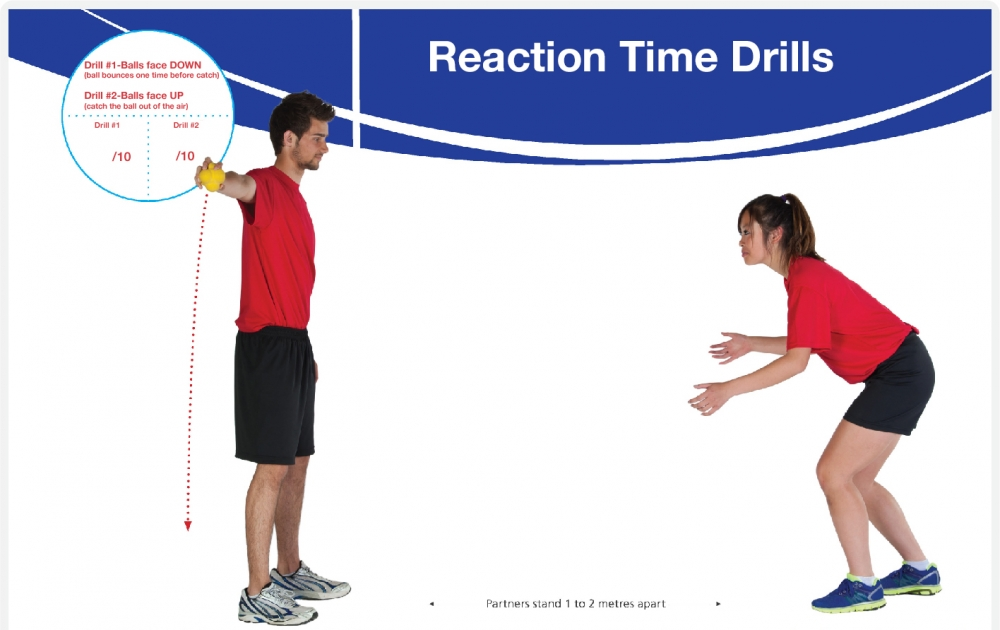 Reaction Time Drills