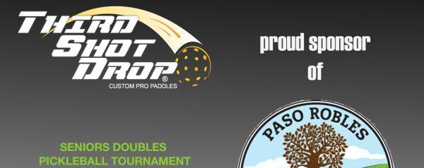 Proud sponsor of Paso Robles Pickleball club