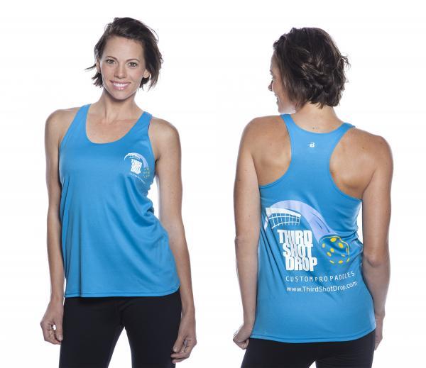 Women's Dri Fit Sleeveless Racerback Shirts